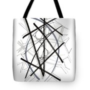 Modern Drawing Forty-six Tote Bag