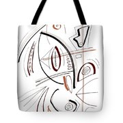 Modern Drawing Sixty-seven Tote Bag