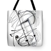 Modern Drawing Thirty-eight Tote Bag