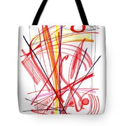 Modern Drawing Thirty-nine Tote Bag