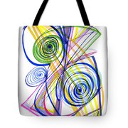 Modern Drawing Thirty-seven Tote Bag