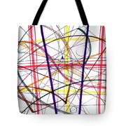 Modern Drawing Twelve Tote Bag