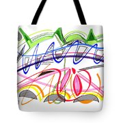 Modern Drawing Twenty-five Tote Bag
