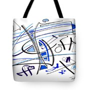 Modern Drawing Twenty-seven Tote Bag