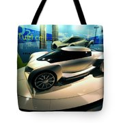 Modern Fuel Cell Car Tote Bag