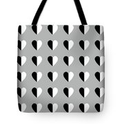 Modern Hearts- Art By Linda Woods Tote Bag