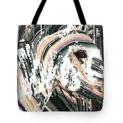 Modern Horse Art By Sharon Cummings Tote Bag
