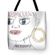 Modern Peace Art Tote Bag