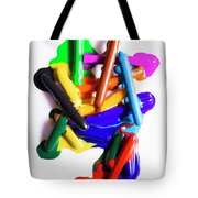 Modern Rainbow Art Tote Bag