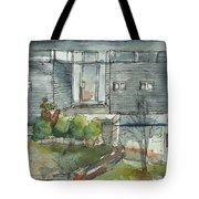 Modern Spring Tote Bag