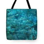 Modern Turquoise Art - Deep Mystery - Sharon Cummings Tote Bag