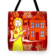 Modern Woman Tote Bag by Patrick J Murphy