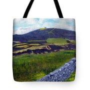 Moel Famau Hill Painting Tote Bag