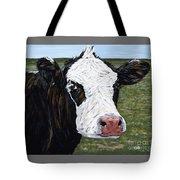 Mohawk Cow Tote Bag