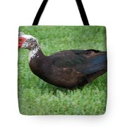 Mohawk Duck Tote Bag
