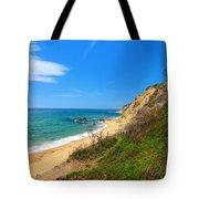 Mohegan Bluffs Block Island Tote Bag