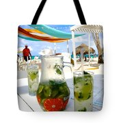 Mojitos On The Beach- Punta Cana Tote Bag