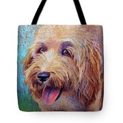 Mojo The Shaggy Dog Tote Bag