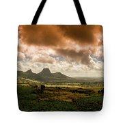 Moka Mountains Tote Bag