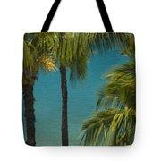 Mokapu Beach Senior Couple Tote Bag