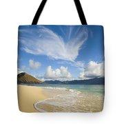 Mokulua Island Beach Tote Bag
