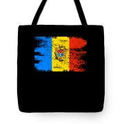 Moldova Gift Country Flag Patriotic Travel Shirt Europe Light Tote Bag