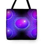 Molecules  Tote Bag