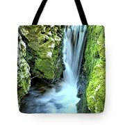 Moine Creek Goes Vertical Tote Bag