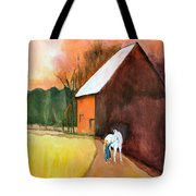 Molly And Me Tote Bag