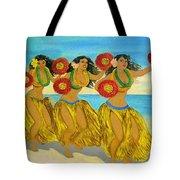 Moloka'i Hula Tote Bag