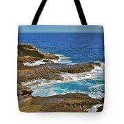 Molokai Lookout 0649 Tote Bag