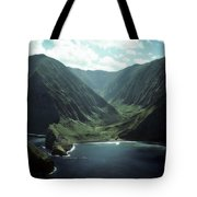 Molokai Valley Tote Bag