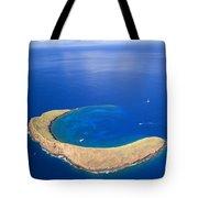 Molokini Crater Tote Bag