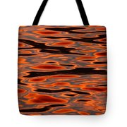Molten Golden Waters Of The Upper Niagara Tote Bag