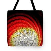 Molten Honeycomb Tote Bag