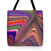 Molten Rainbow Redux Tote Bag