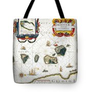 Moluccas: Spice Islands Tote Bag
