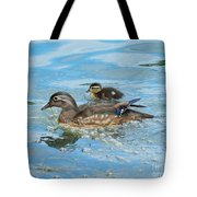 Mom And Baby Woody Tote Bag