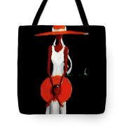 Mom And  Daughter  Tote Bag