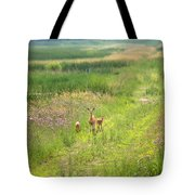 Mom And The Twins Tote Bag