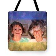 Mom Is Turning Ninety Tote Bag