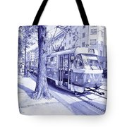 Moment In Prague - Ballpoint Pen Art Tote Bag