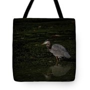 Moment Of The Heron Tote Bag