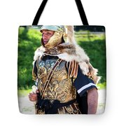 Watchful Roman Legionnary Soldier Tote Bag