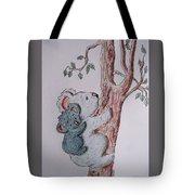 Momma And Baby Koala Tote Bag