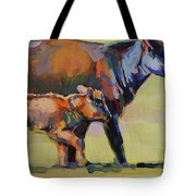Momma And Me Tote Bag