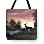 Momma And Twins . Tote Bag