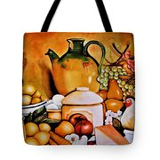Mom's Kitchen Tote Bag by Dalgis Edelson