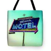 Mom's Motel Tote Bag