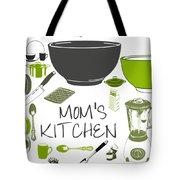 Moms Retro Kitchen Cookware Tote Bag